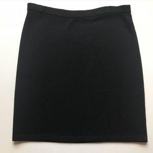 St. John black knit Santana skirt